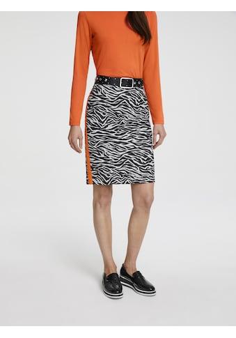 Druckrock im Zebra - Look kaufen