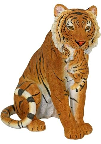 Home affaire Tierfigur »Tiger sitzend mit Jungen im Maul« kaufen