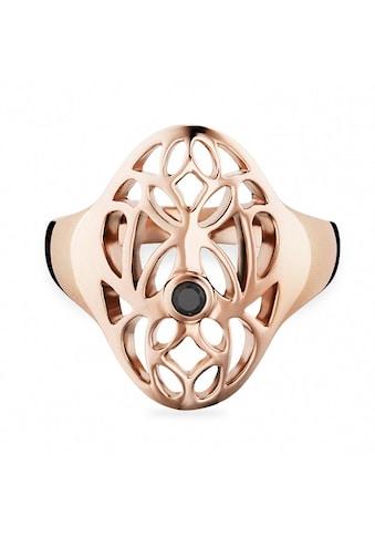 CAÏ Ring »925/ -  Sterling Silber vergoldet Spinell schwarz« kaufen