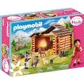 Playmobil® Konstruktions-Spielset »Peters Ziegenstall (70255), Heidi«, ; Made in Germany