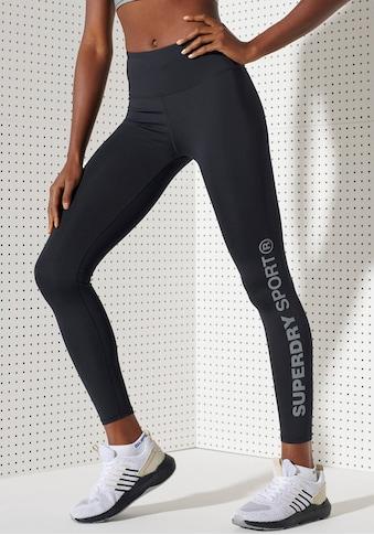 Superdry Sport Leggings »TRAINING ESSENTIAL LEGGINGS«, mit verschließbarer Tasche kaufen