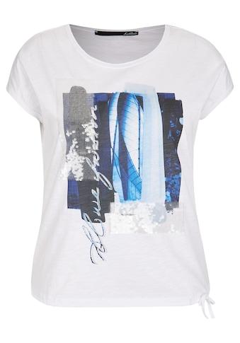 LeComte T-Shirt, mit abstraktem Muster und Pailletten kaufen