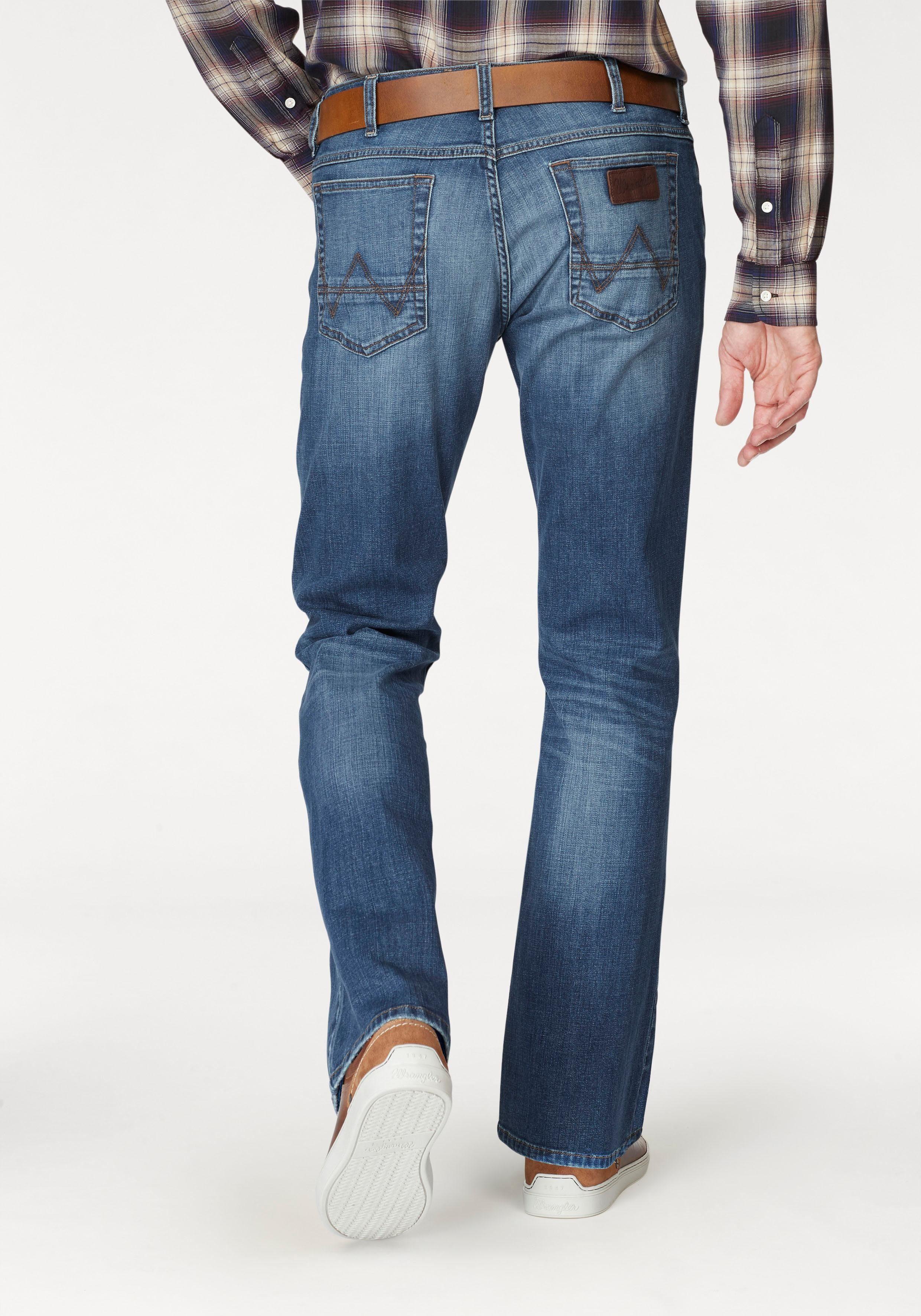 Wrangler Bootcut-Jeans Jacksville | Bekleidung > Jeans > Bootcut Jeans | Wrangler