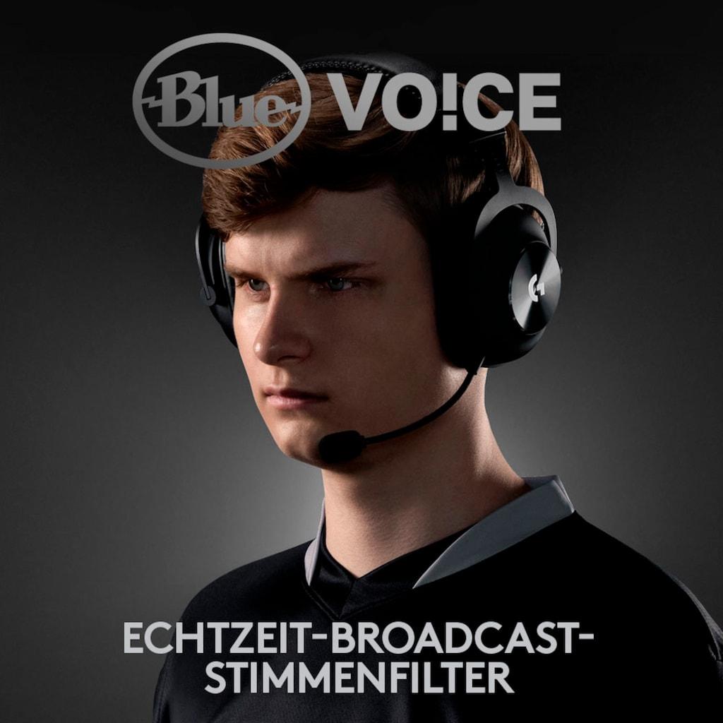 Logitech G Kopfhörer »PRO X Wireless LIGHTSPEED«, Rauschunterdrückung