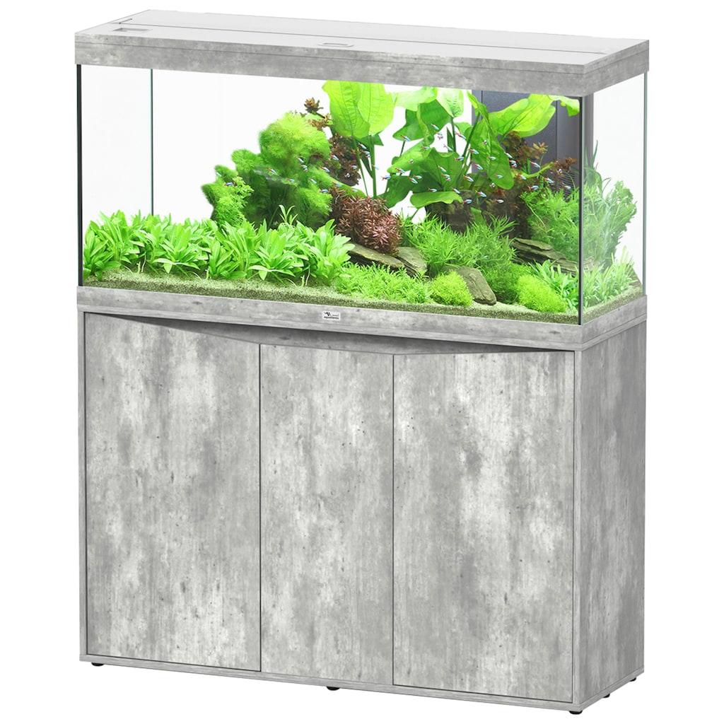 Aquatlantis Aquarien-Set »Splendid 240«, BxTxH: 120x40x144 cm, 294 l, mit Unterschrank in steinoptik