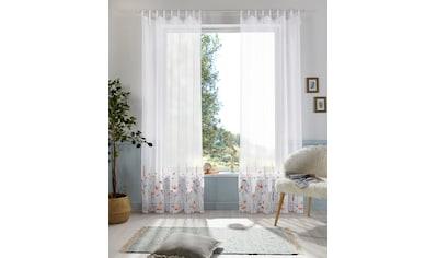 Home affaire Gardine »Bille«, transparent, echter Voile mit Stickerei, waschbar kaufen
