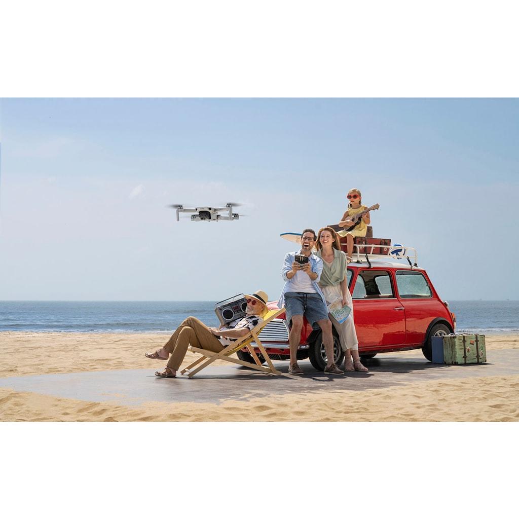 dji Drohne »Mavic Mini 2«, Ultraleichter und faltbarer Drohnen, 3-Achsen-Gimbal mit 4K-Kamera, 31 Minuten Flugzeit, OcuSync 2.0 HD-Videoübertragung, QuickShots mit DJI Fly App