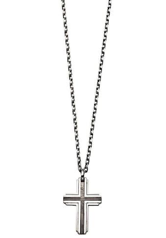 XENOX Kette mit Anhänger »Silver Men, Kreuz, XS9300« kaufen