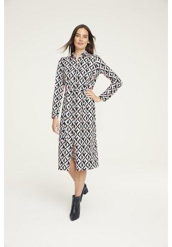 Jerseykleid mit Bindegürtel kaufen