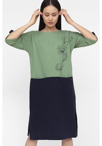 Finn Flare Jerseykleid, in zweifarbigem Design kaufen