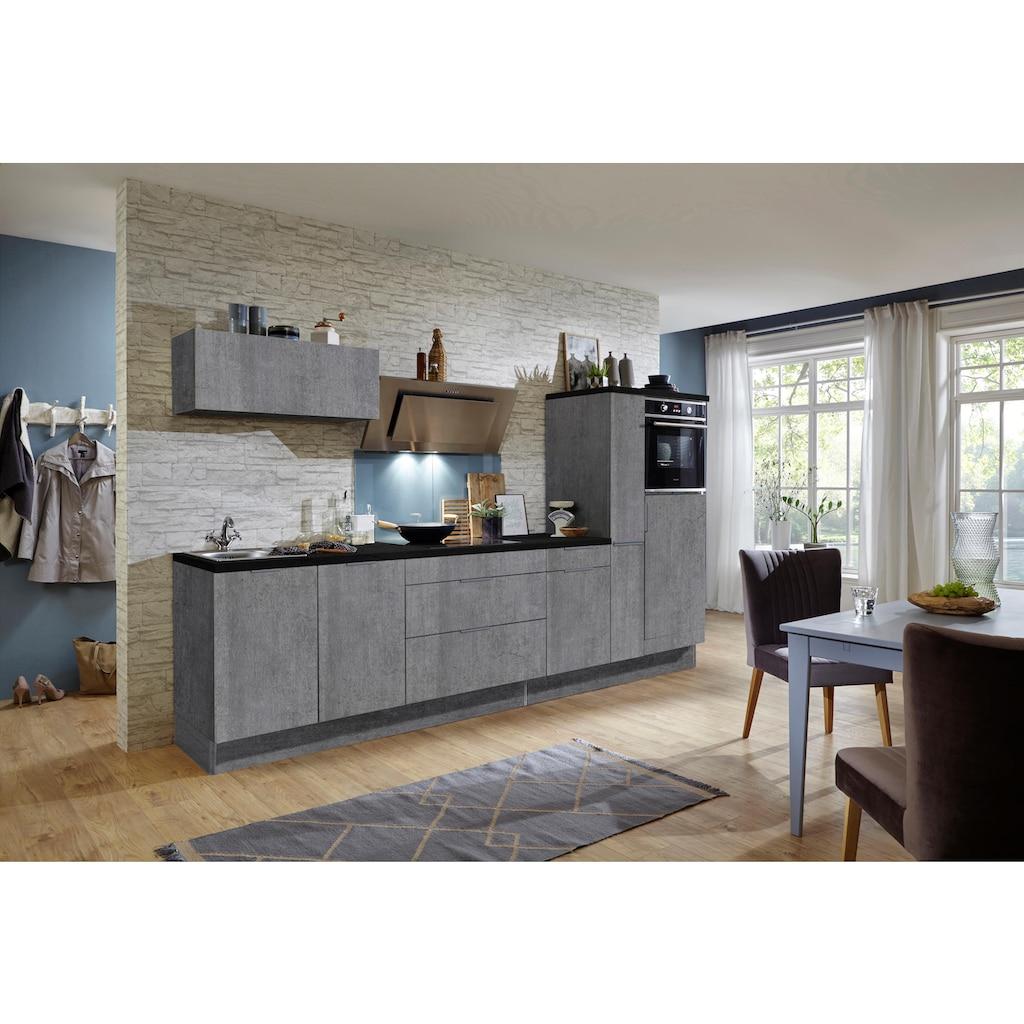 OPTIFIT Küchenzeile »Tara«, ohne E-Geräte, mit Vollauszug und Soft-Close-Funktion, Breite 320 cm