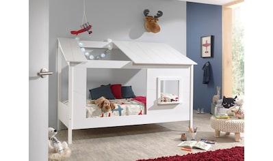 Vipack Hausbett, wahlweise mit Bettschubkasten kaufen