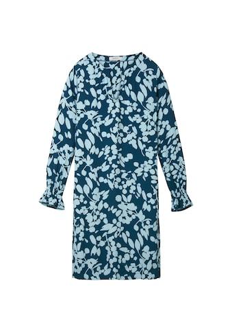 Sandwich Kleid mit Blumenprint und Trompetenärmeln kaufen