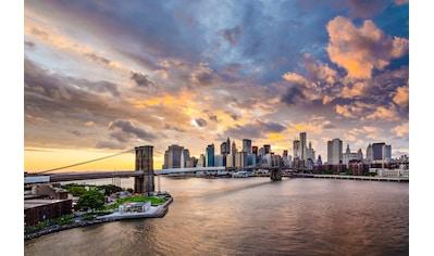 PAPERMOON Fototapete »Brooklyn Bridge«, Vlies, in verschiedenen Größen kaufen