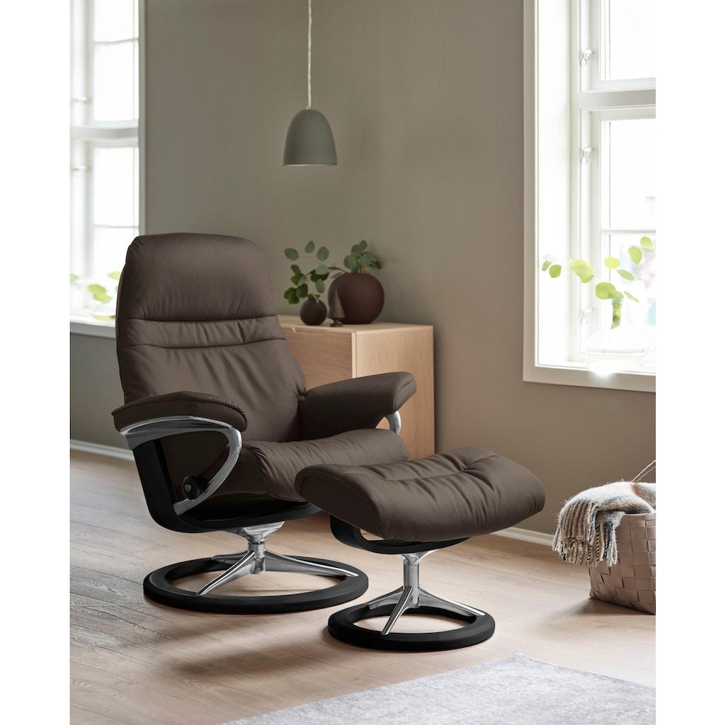 Stressless® Relaxsessel »Sunrise«, mit Signature Base, Größe M, Gestell Schwarz