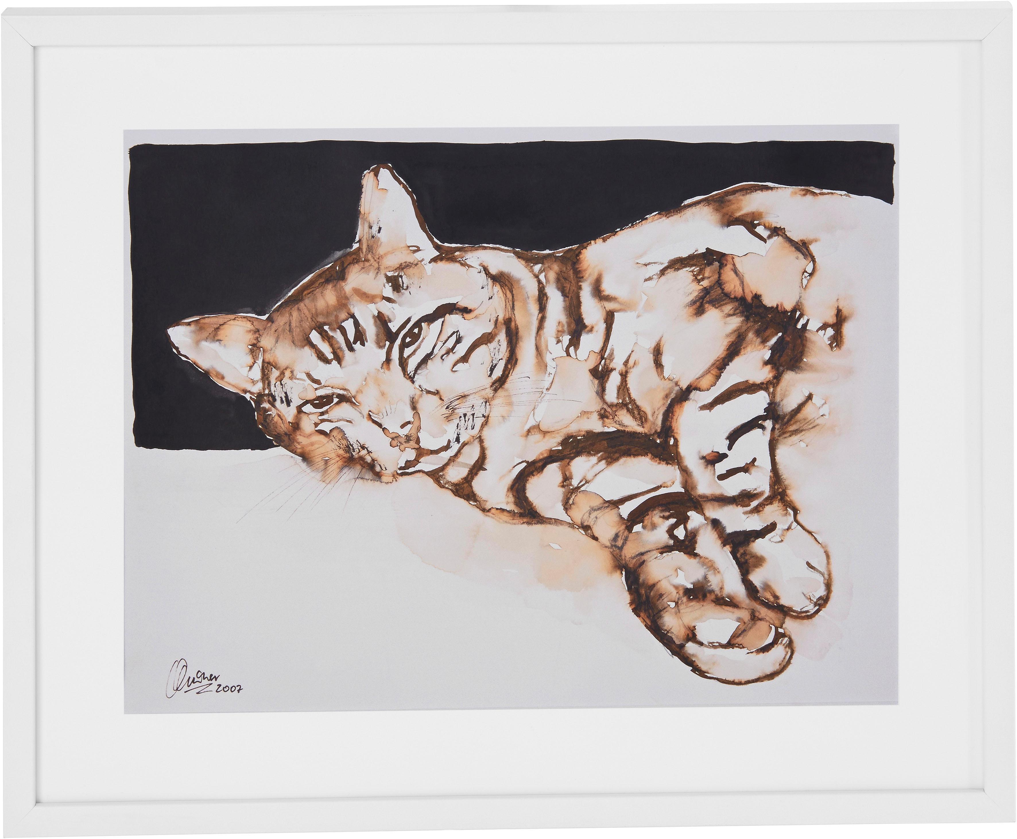 Guido Maria Kretschmer Home&Living Bild »Katze«...