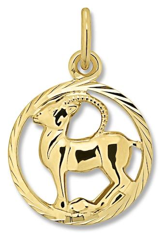 ONE ELEMENT Sternzeichenanhänger »Sternzeichen Anhänger Steinbock aus 333 Gelbgold« kaufen