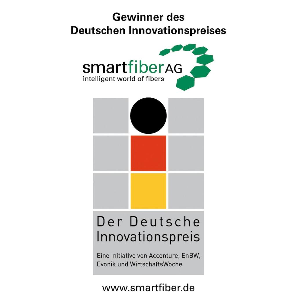 f.a.n. Schlafkomfort Kunstfaserbettdecke »Wellness für die Haut«, leicht, Bezug 100% Baumwolle, (1 St.), Gewinner des Deutschen Innovationspreises - mit antibakterieller Wirkung durch Smartcel™sensitive