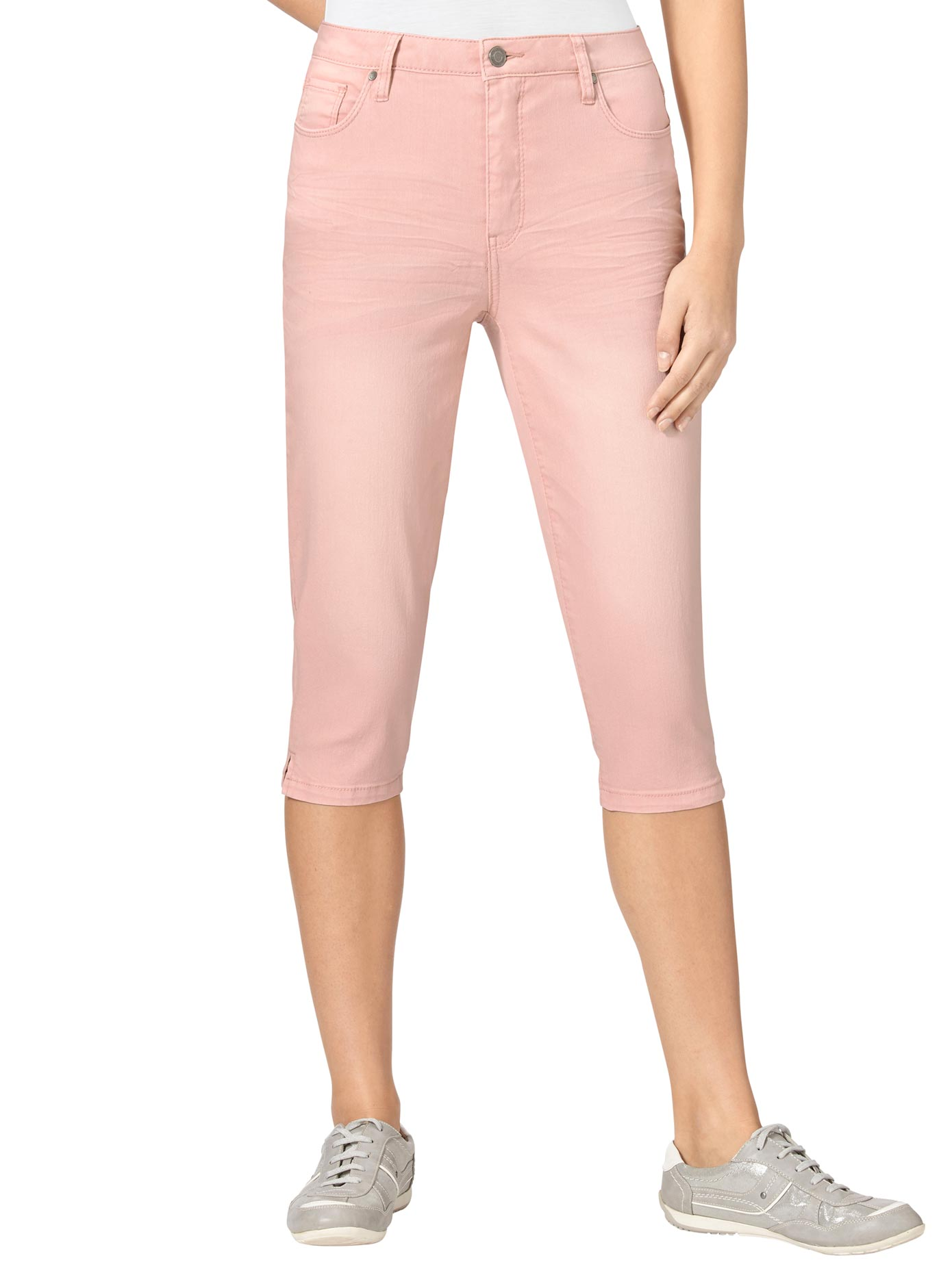 Casual Looks Capri-Jeans in 5-Pocket-Form | Bekleidung > Jeans > Caprijeans | Casual Looks