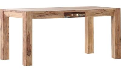 Gutmann Factory Esstisch »Patchwork«, aus massivem Sheesham Holz, Breite 160 cm kaufen