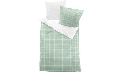 Dormisette Wendebettwäsche »Karo«, mit großen und kleinen Karos kaufen