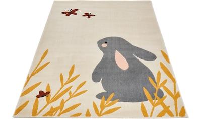 Kinderteppich, »Bunny Lottie«, Zala Living, rechteckig, Höhe 9 mm, maschinell gewebt kaufen