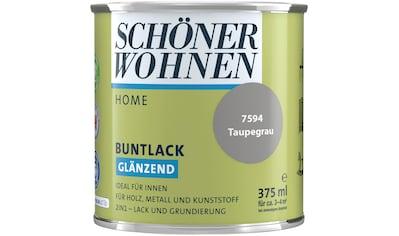SCHÖNER WOHNEN-Kollektion Lack »Home«, glänzend, 375 ml, taupegrau kaufen