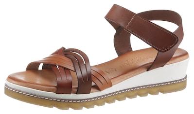 COSMOS Comfort Sandale, leichter Keil kaufen