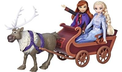"""Hasbro Anziehpuppe """"Die Eiskönigin II, Schlittenfahrt mit Sven und den Schwestern Elsa und Anna"""" kaufen"""