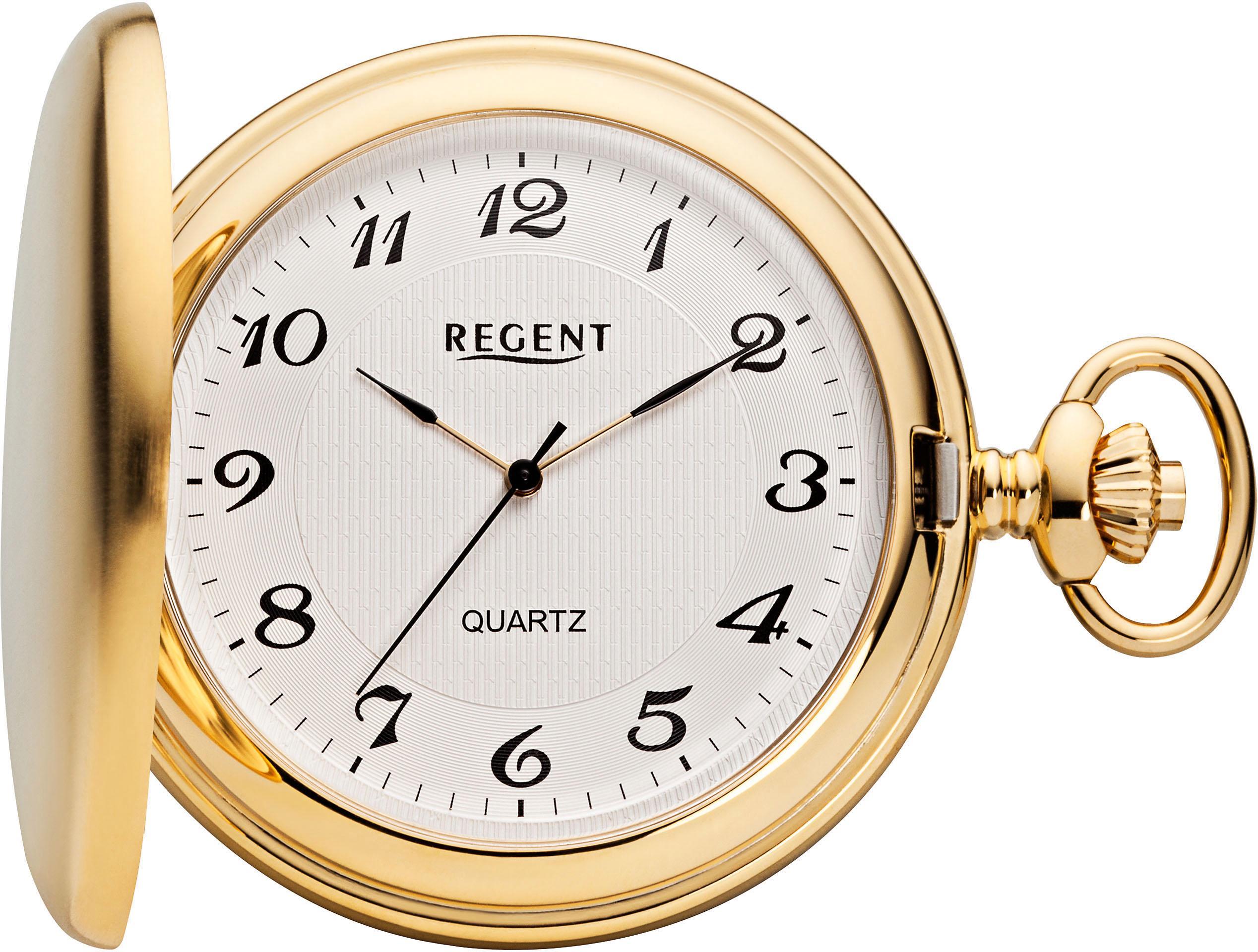 Regent Taschenuhr P23 (Set 2 tlg inkl Kette) | Uhren > Taschenuhren | Goldfarben | Regent