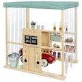 MUDDY BUDDY® Kaufladen »Bubble Catcher«, Tankstelle, Waschstraße, BxLxH: 90x115x115 cm