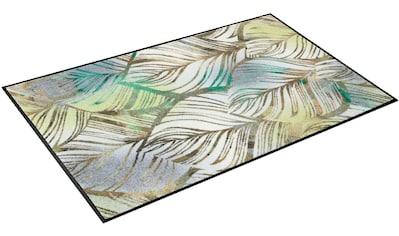 Teppich, »Lapas«, wash+dry by Kleen - Tex, rechteckig, Höhe 7 mm, gedruckt kaufen