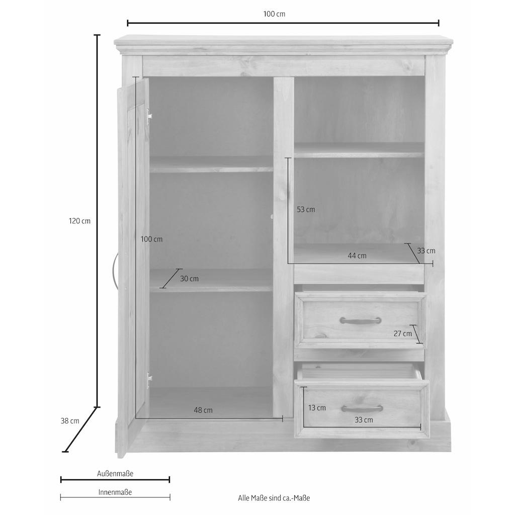 Home affaire Highboard »Selma«, Breite 100 cm