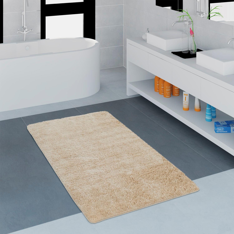 Badematte Lagos 750 Paco Home Höhe 25 mm Wohnen/Räume/Bad/Badematten/Einfarbige Badematten