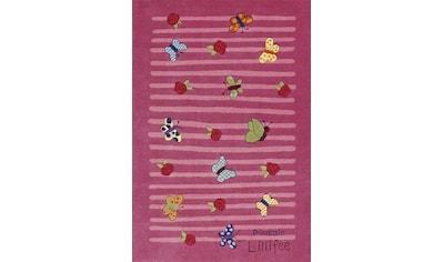 Prinzessin Lillifee Kinderteppich »LI-2099-01«, rechteckig, 10 mm Höhe, Konturschnitt, brillante Farben kaufen