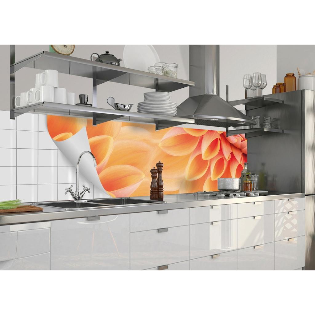 MySpotti Küchenrückwand »fixy Dalia«, selbstklebende und flexible Küchenrückwand-Folie