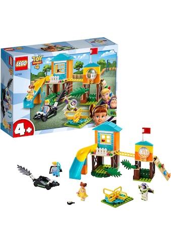 """LEGO® Konstruktionsspielsteine """"Buzz & Porzellinchens Spielplatzabenteuer (10768), LEGO® Juniors"""", Kunststoff, (139 - tlg.) kaufen"""