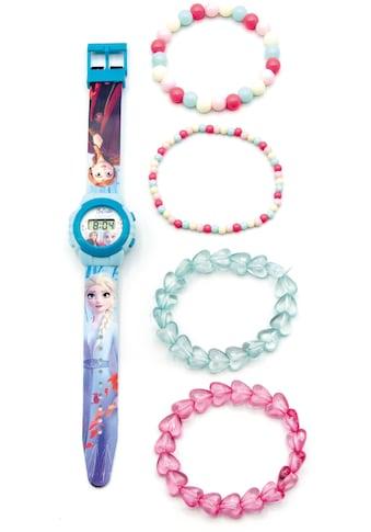 Joy Toy Digitaluhr »Disney Eiskönigin, 20750«, (Packung, 5 tlg., LCD Uhr mit 4 Perlenarmbändern) kaufen