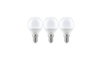 Paulmann LED-Leuchtmittel »Tropfen 5,5W E14 Warmweiß 3er-Pack«, 1 St., Warmweiß kaufen