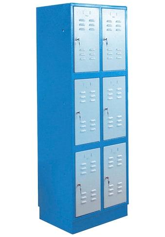 Güde Werkzeugschrank »TYP 6F«, B/T/H: 60x50x180 cm, abschließbar kaufen