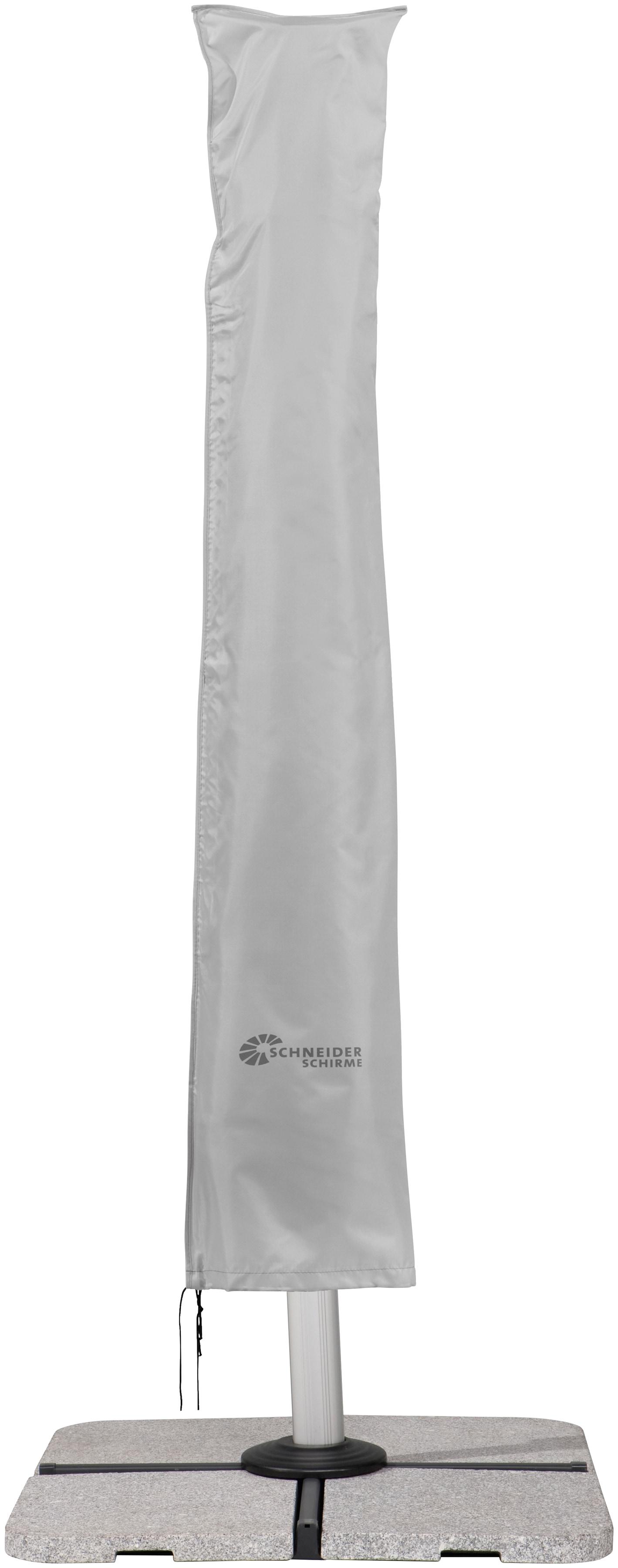 Schneider Schirme Schutzplane 813-40, für Ampelschirme bis Ø 400 cm grau Sonnenschirme -segel Gartenmöbel Gartendeko