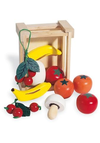 """Pinolino® Kaufladensortiment """"Kiste mit Obst"""", (11 - tlg.) kaufen"""