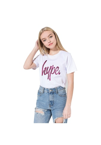 Hype T - Shirt »Mädchen Pailletten Script« kaufen
