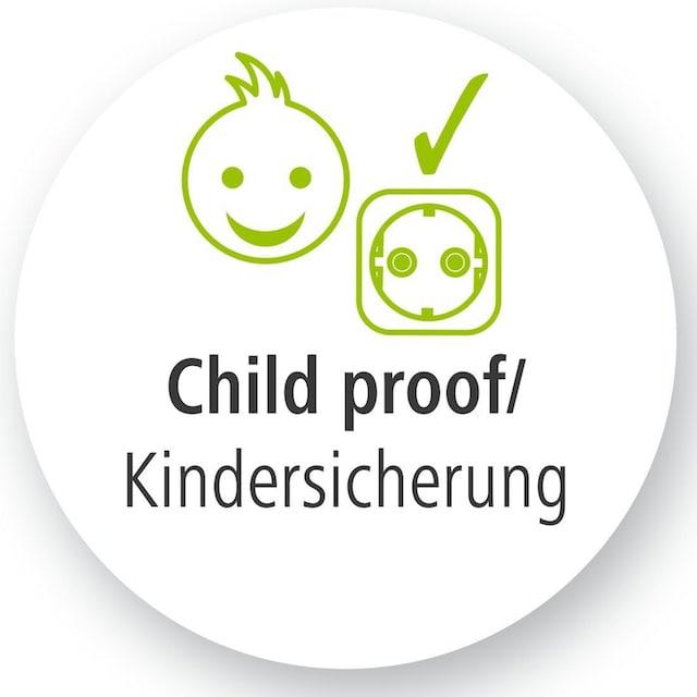 Hama Steckdosenleiste Mehrfachsteckdose 3-fach, 5m in Schwarz »mit Kindersicherung«