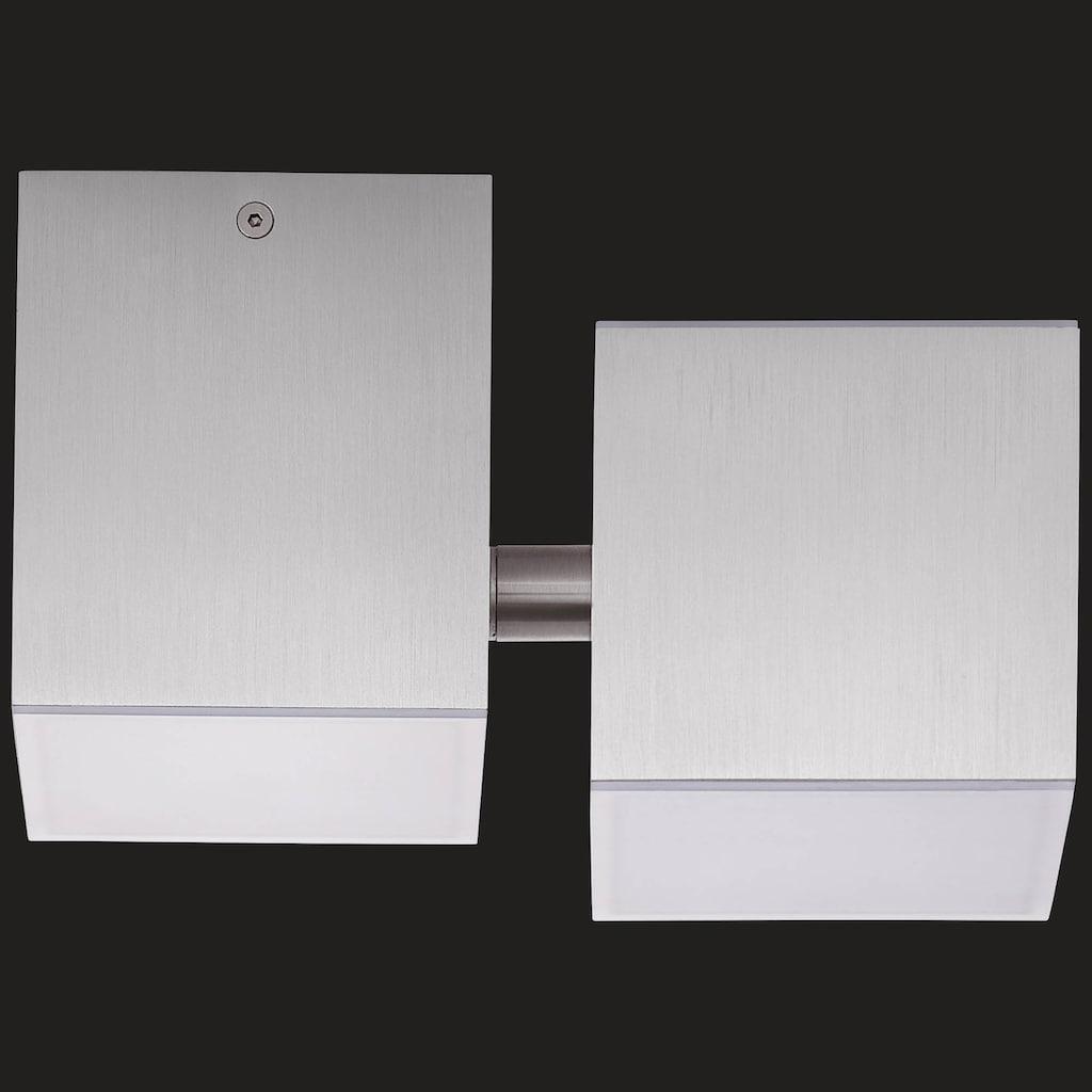 AEG Gillian LED Deckenleuchte 3flg alu