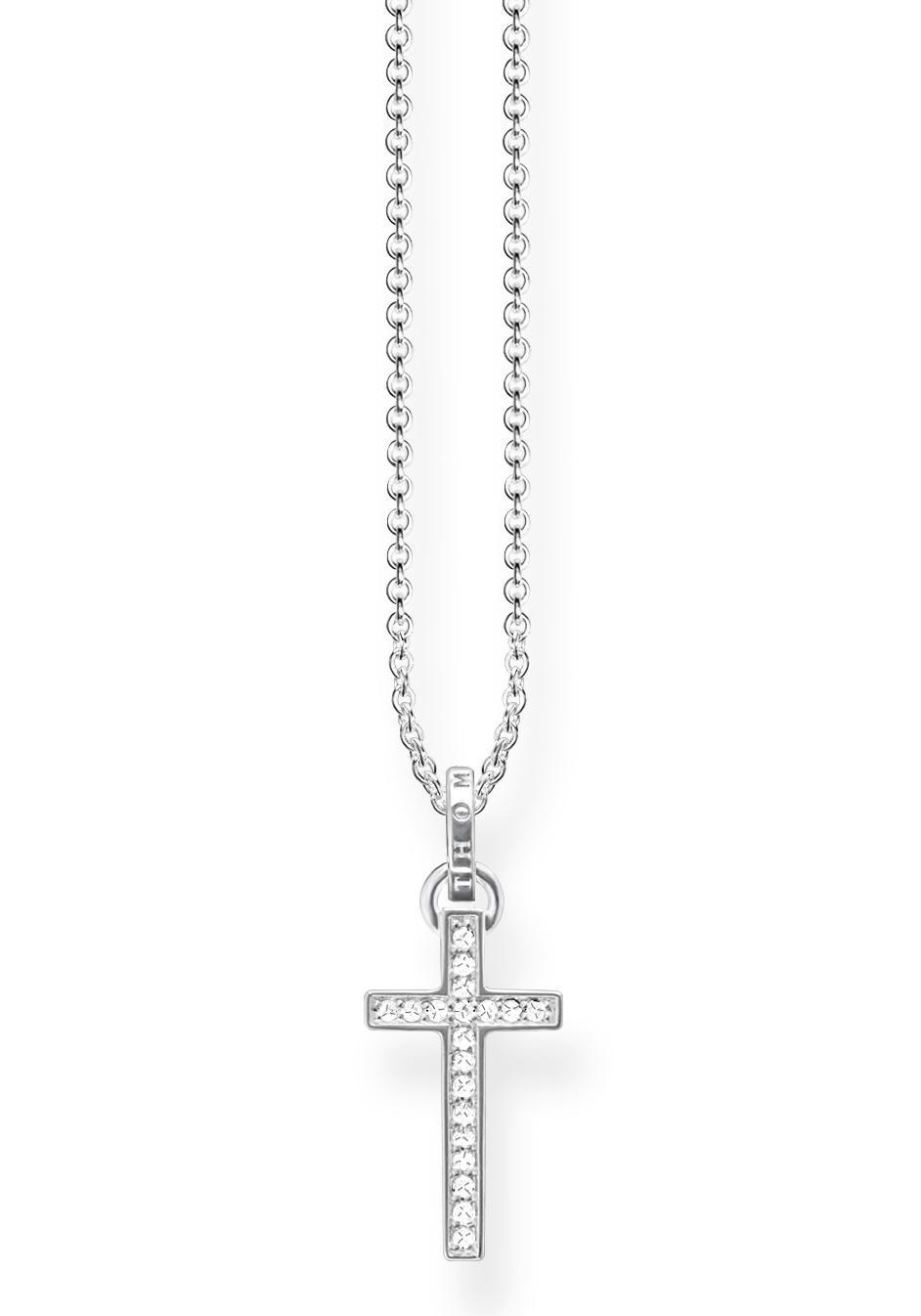 THOMAS SABO Kette mit Anhänger Kreuz KE1653-051-14-L45v   Schmuck > Halsketten   Thomas Sabo