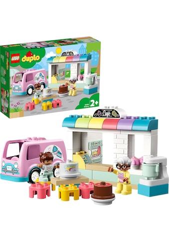 LEGO® Konstruktionsspielsteine »Tortenbäckerei (10928), LEGO® DUPLO® Town«, (46 St.),... kaufen