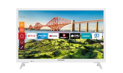 "Telefunken LED-Fernseher »XH24J501V-W«, 60 cm/24 "", HD-ready, Smart-TV kaufen"