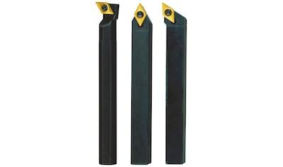 PROXXON Stahlhaltersatz »10x10x90 mit HM - Wendeplatten«, (3 - tgl.) kaufen