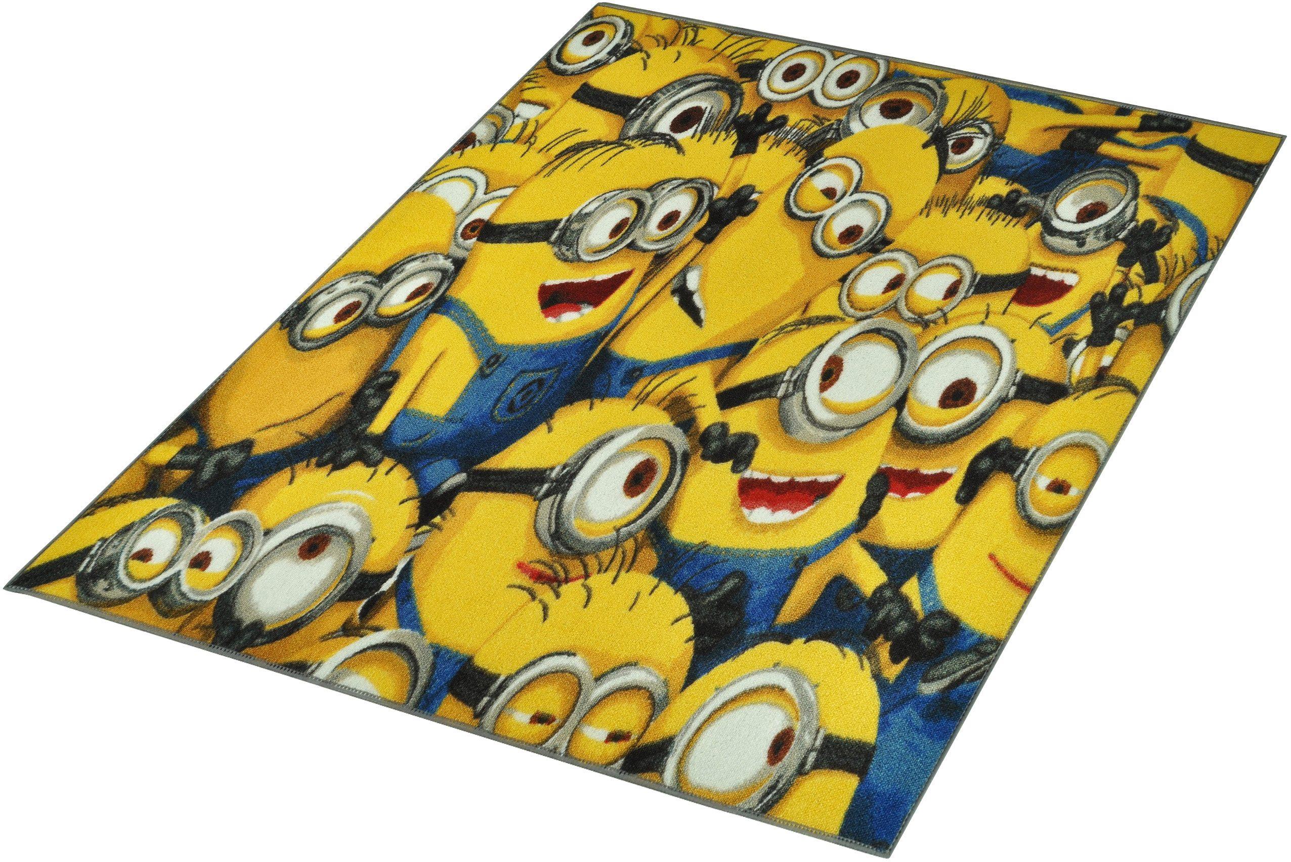 Kinderteppich, »Minions«, Minions, rechteckig, Höhe 7 mm